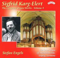 CD-Cover Sigfrid Karg-Elert mit Stefan Enge