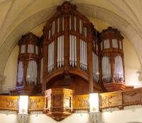 Sauerorgel in der Michaeliskirche