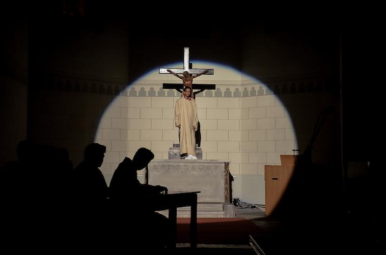 Passionsspiel in der Jugendkirche
