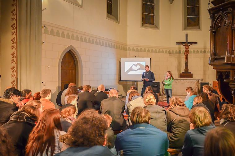 Jugendgottesdienst in der Jugendkirche