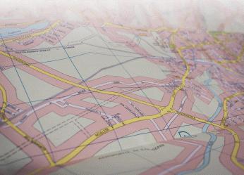 Landkarte als Schema