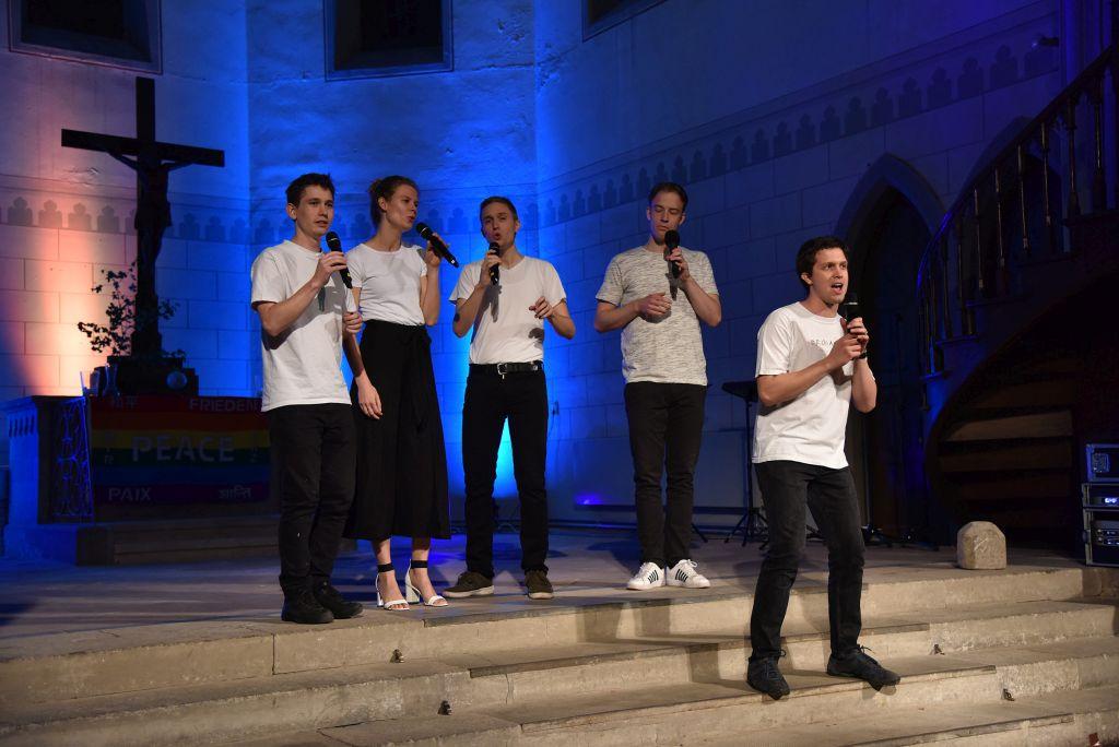 ensemble fimmadur am 3. Oktober 2019 in der Friedenskirche